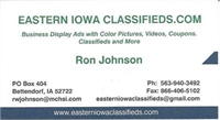 Advertise With Eastern Iowa Classifieds
